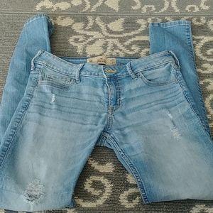👖HOLLISTER Women's S Skinny Low-Rise Jeans